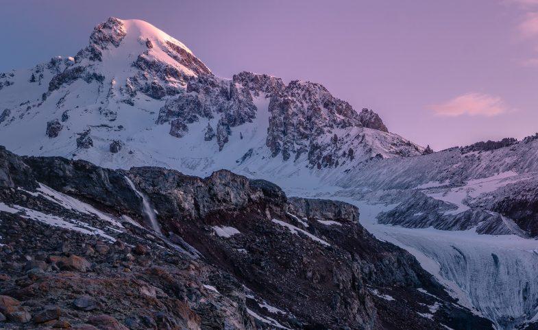 Gergeti Glacier, Mount Kazbek