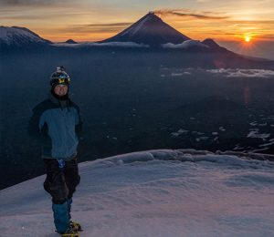 Made it to the summit of Ostriy Tolbachik, Kamchatka, Russia
