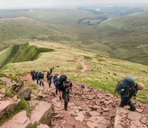 Wales trek