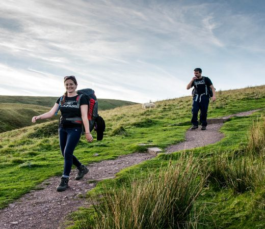 Trekking across Wales on UK Adventure Academy with Secret Compass