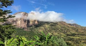 Mountains in the clouds, Madagascar