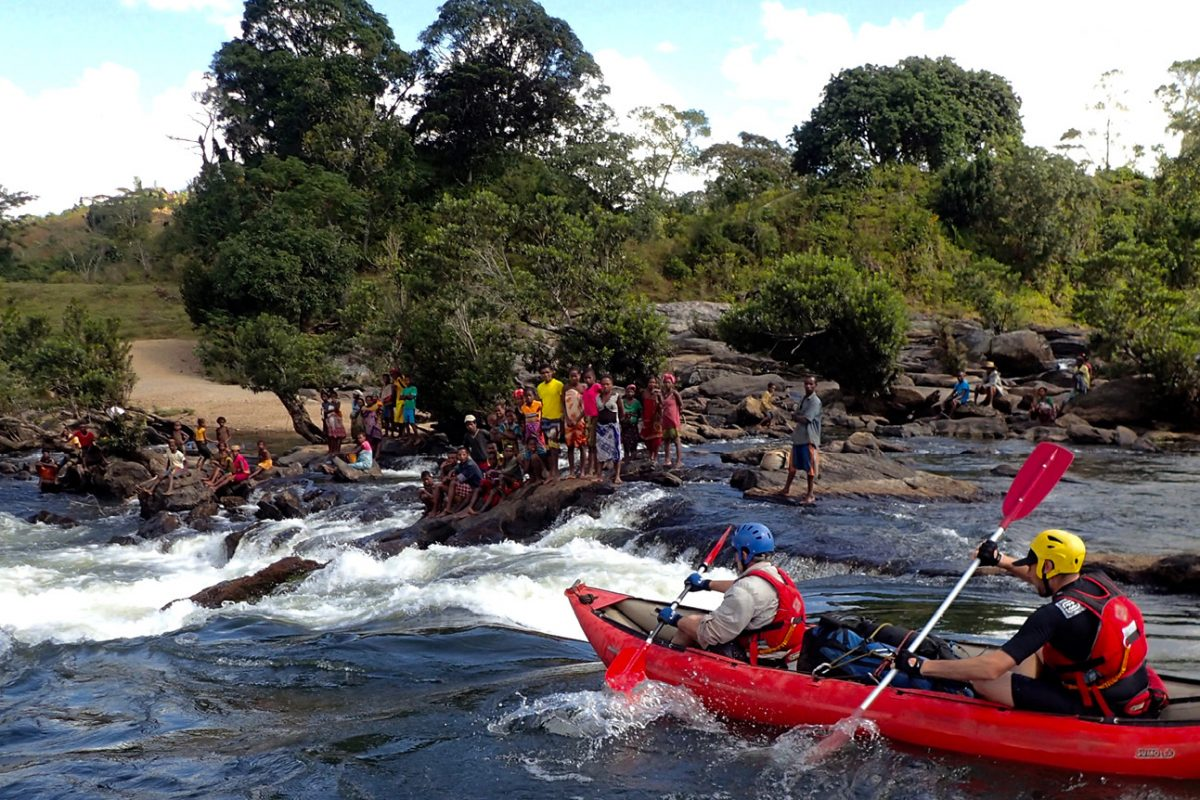 Rafting in Madagascar