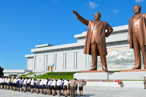 Iconic statues of north korea