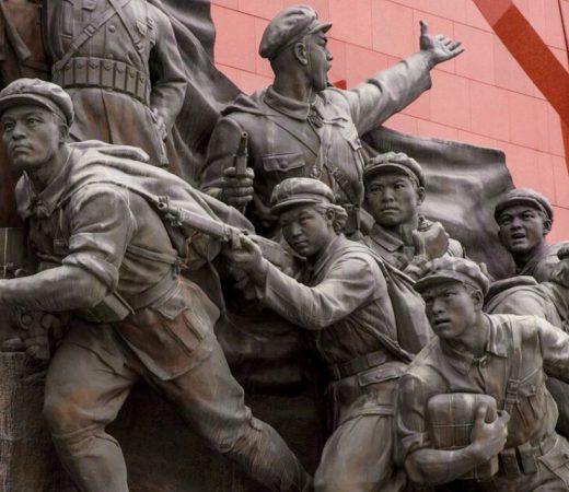 North Korea statue