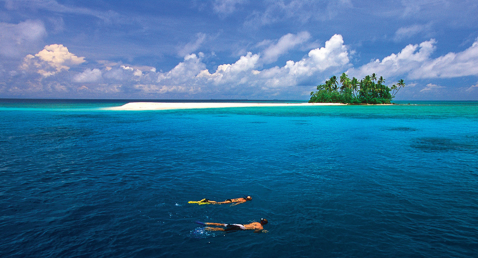 Snorkelling in New Ireland, off the coast of Papua New Guinea