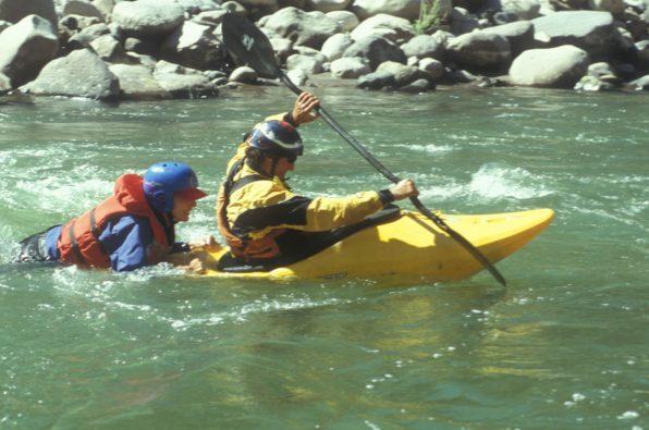 White water Rescue Technician training in Papua New Guinea