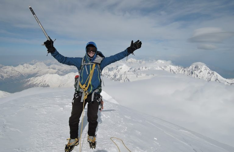 Alpine Skills on Georgia'a Mount Kazbek with Secret Compass and Phil de Beger