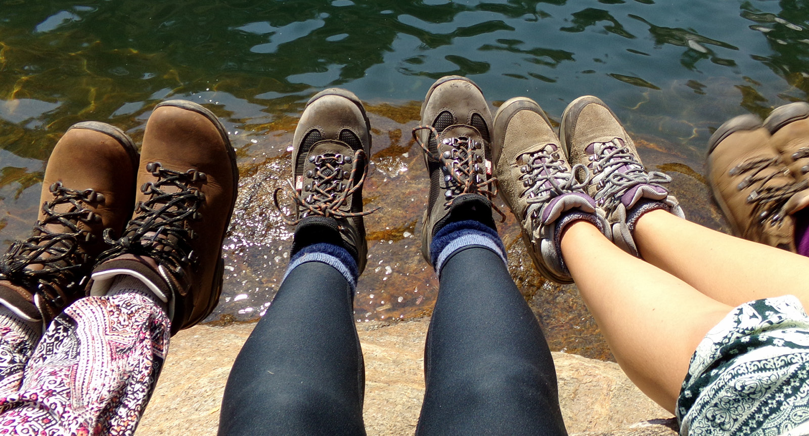 Footwear for expeditions