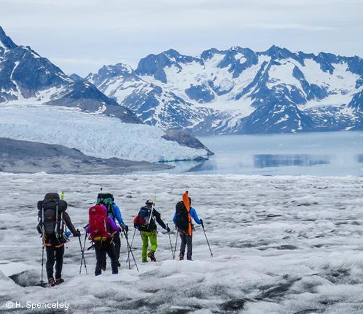 Trekking in Greenland