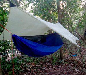 Camping in the darien gap, Panama