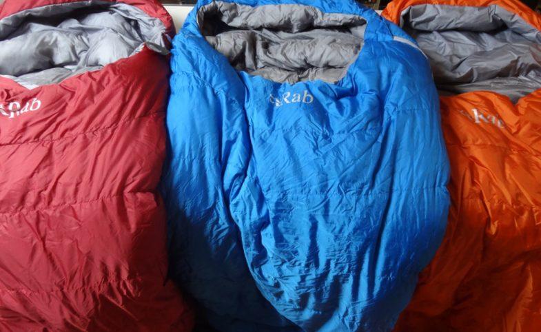 Rab sleeping bag image Image © ukbackpacker.wordpress.com
