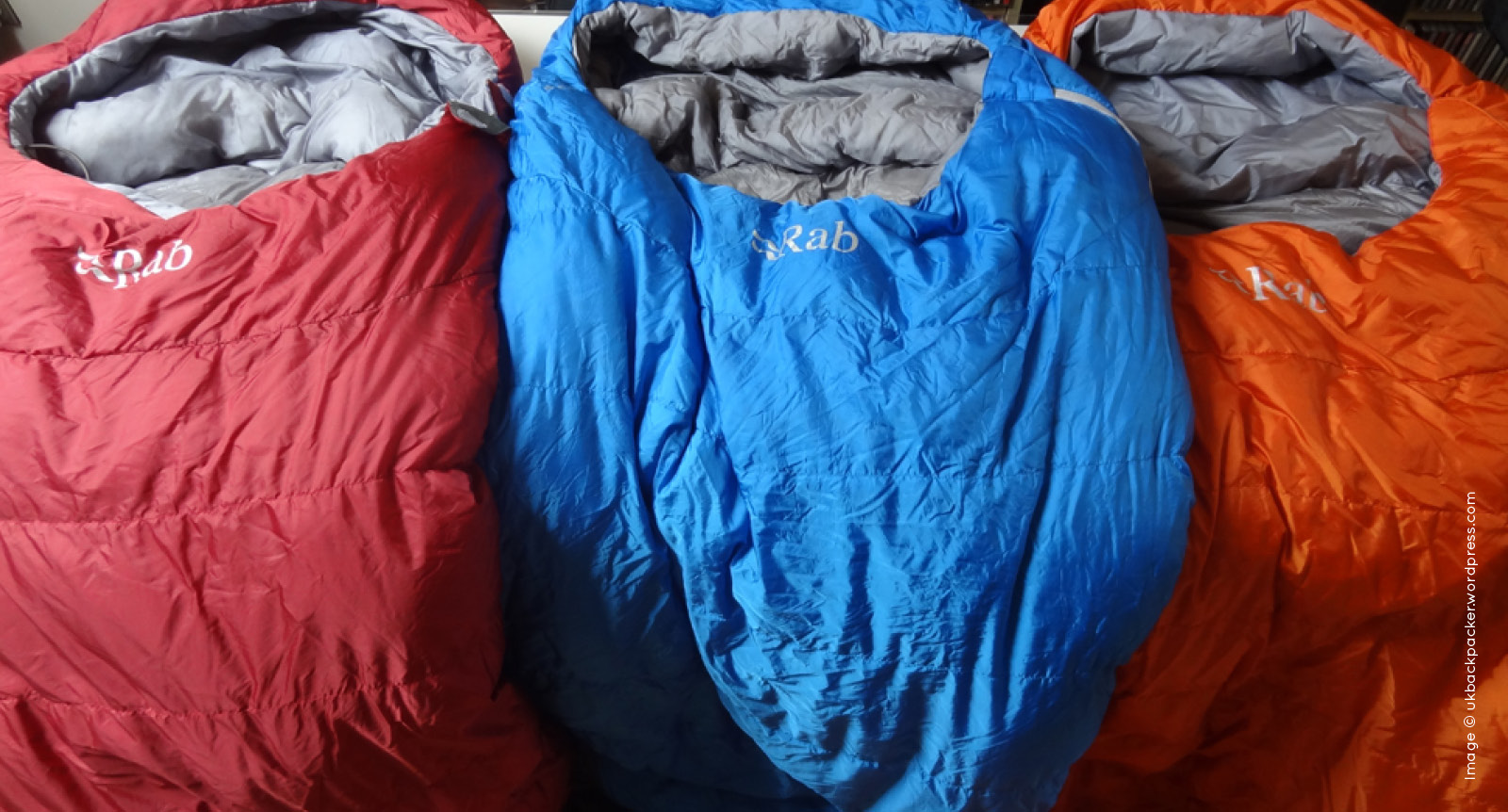 Rab sleeping bag image Image © ukbackpacker.wordpress.com