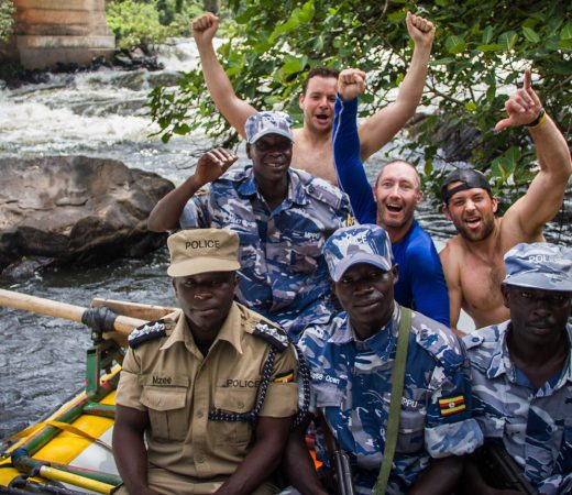 Raft Uganda's Murchison Falls image with Glen Downton