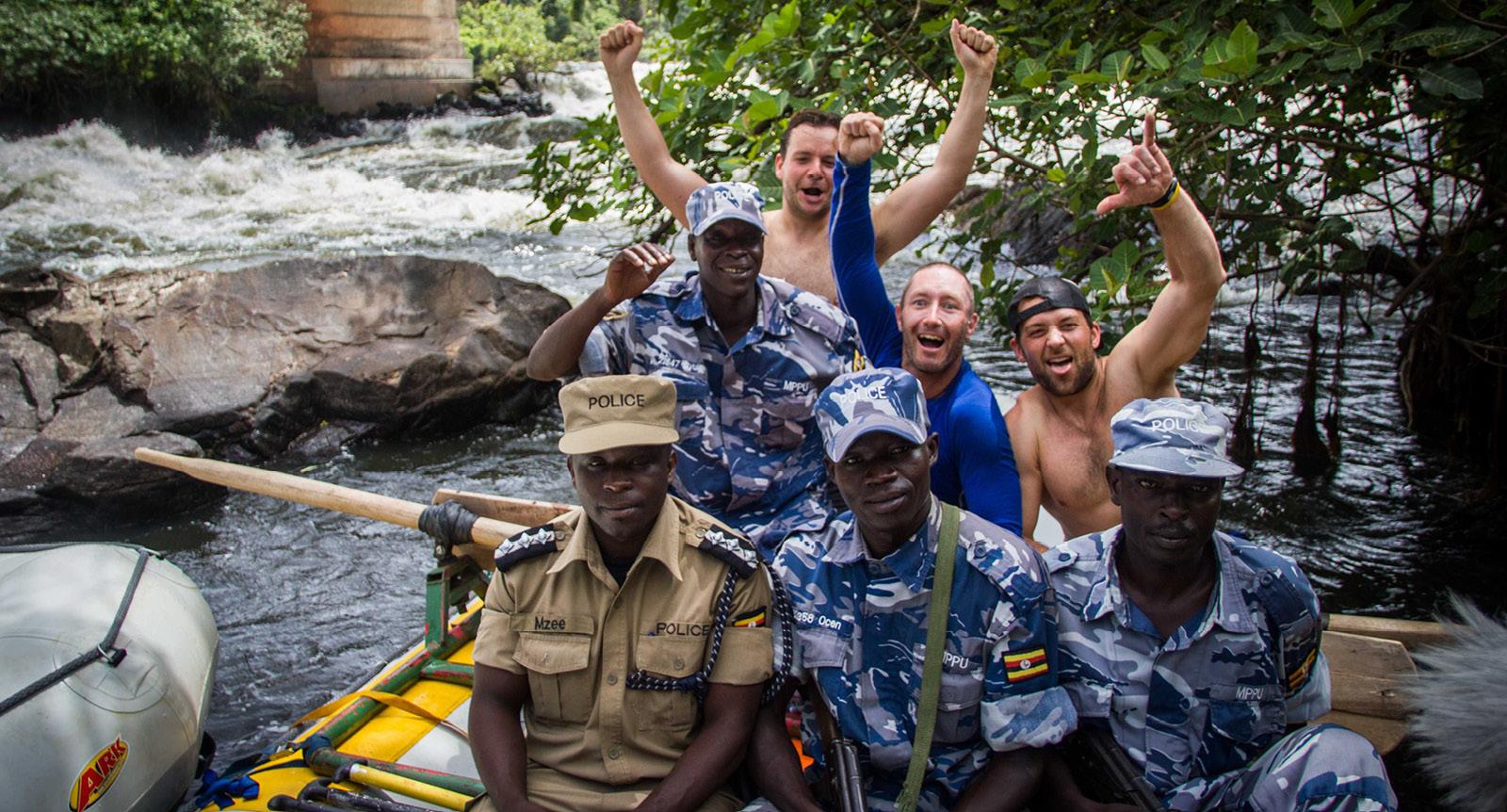 Raft Uganda's Murchison Falls image with Glen Downton