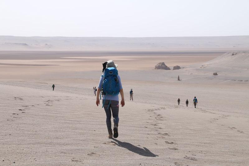Iran's Lut desert trek adventure with Secret Compass