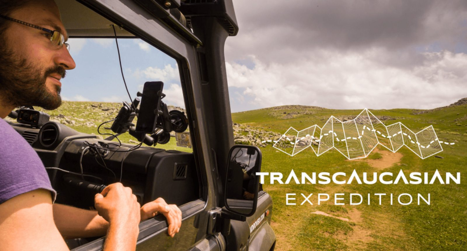 Transcaucasian logo image, Armenia expedition with Secret Compass, joined by Tom Allen of the Transcaucasian trail2