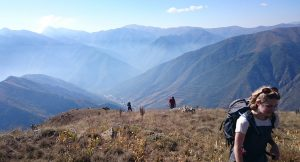 Misty view, Armenia expedition with Secret Compass, joined by Tom Allen of the Transcaucasian trail5