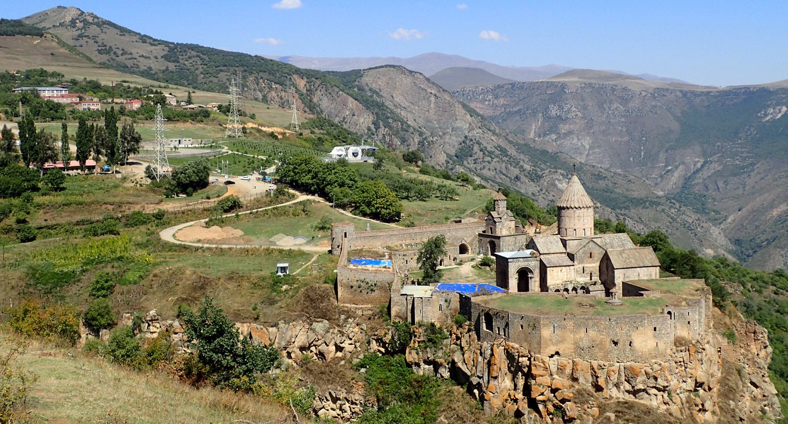 Tatev Monastery, Armenia expedition with Secret Compass, joined by Tom Allen of the Transcaucasian trail7