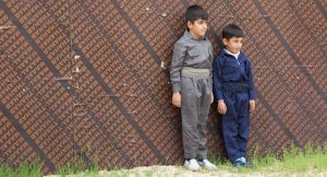 Children in the Mount Halgurd region of the Zagros mountains in Iraqi Kurdistan on an expedition with (c) Secret Compass