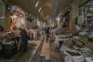 Qaysari Bazaar, downtown Erbil, the capital of Iraqi Kurdistan