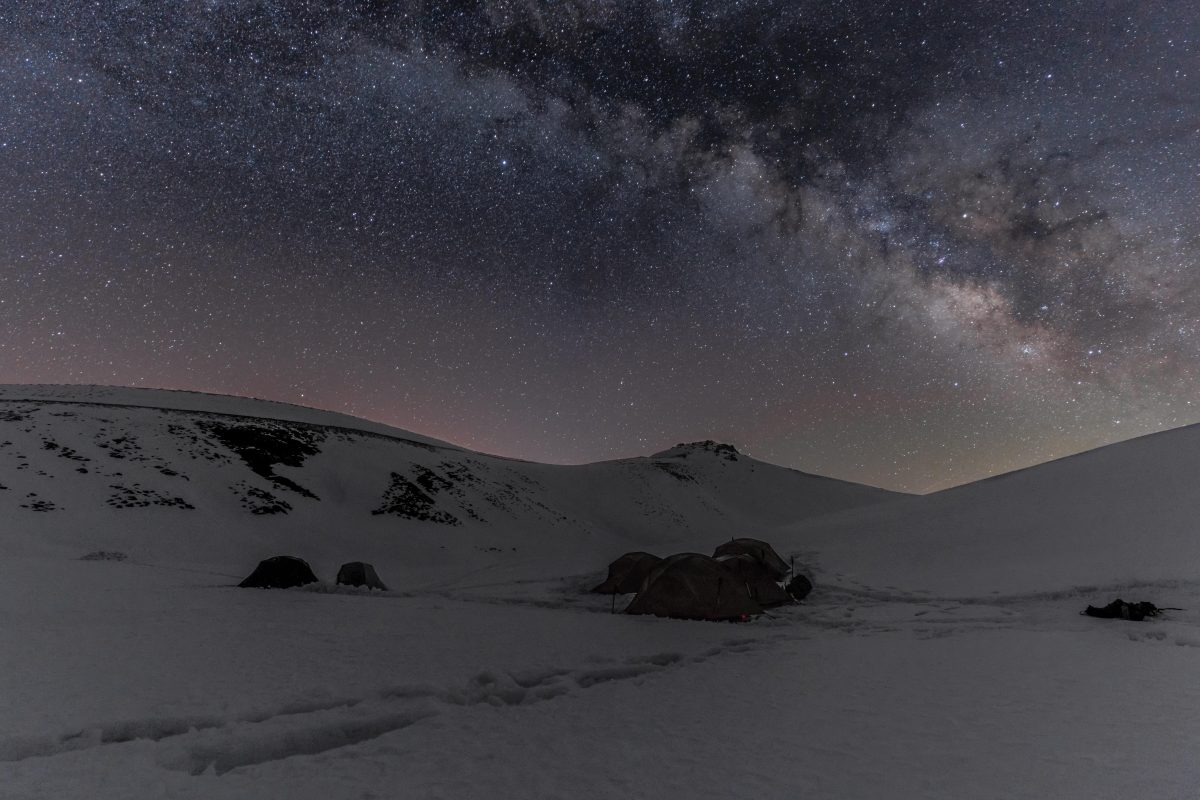 Turns out stargazing in Iraqi Kurdistan can be sublime.