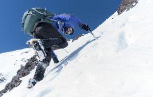 Kicking steps on Mt. Halgurd, shot on spring's 2017 Kurdistan expedition