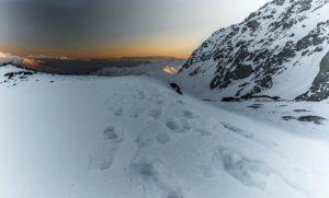Sunrise in the Zargos mountains