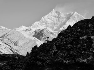 An imposing peak from this year's Hidden Himalayas expedition