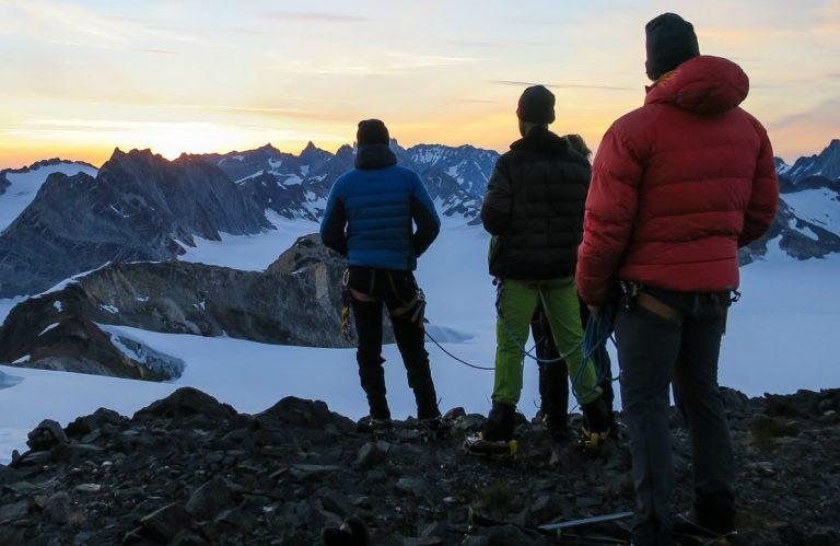 Alpine Adventures in Greenland's Schweizerland Alps.