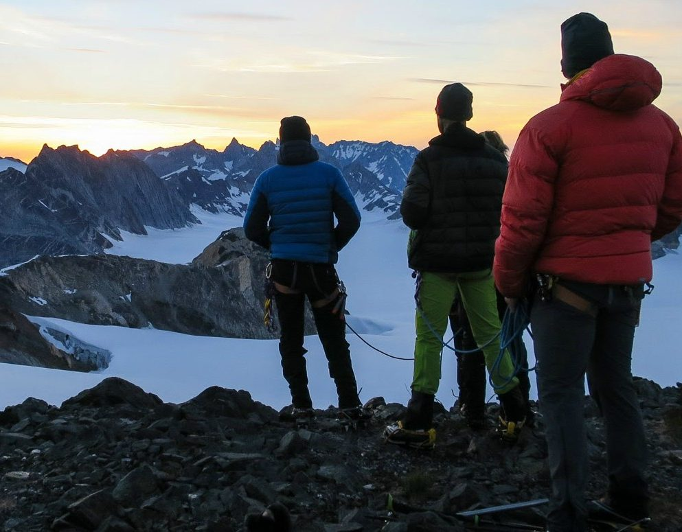 Alpine Adventures in Greenland's Schweizerland Alps.