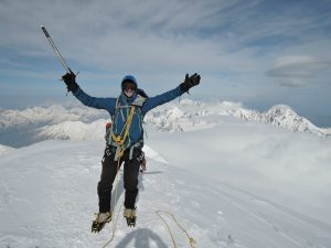 Team leader Phil summits Mt. Kazbek