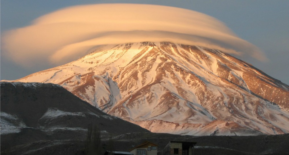 Mt. Damavand, Asia's highest volcano