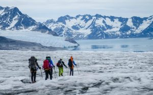 Trekking through Greenland's sweeping glaciers, alpine plateaux and soaring rocky peaks