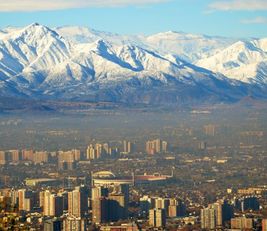 Santiago, the city in the shadow of the Andes