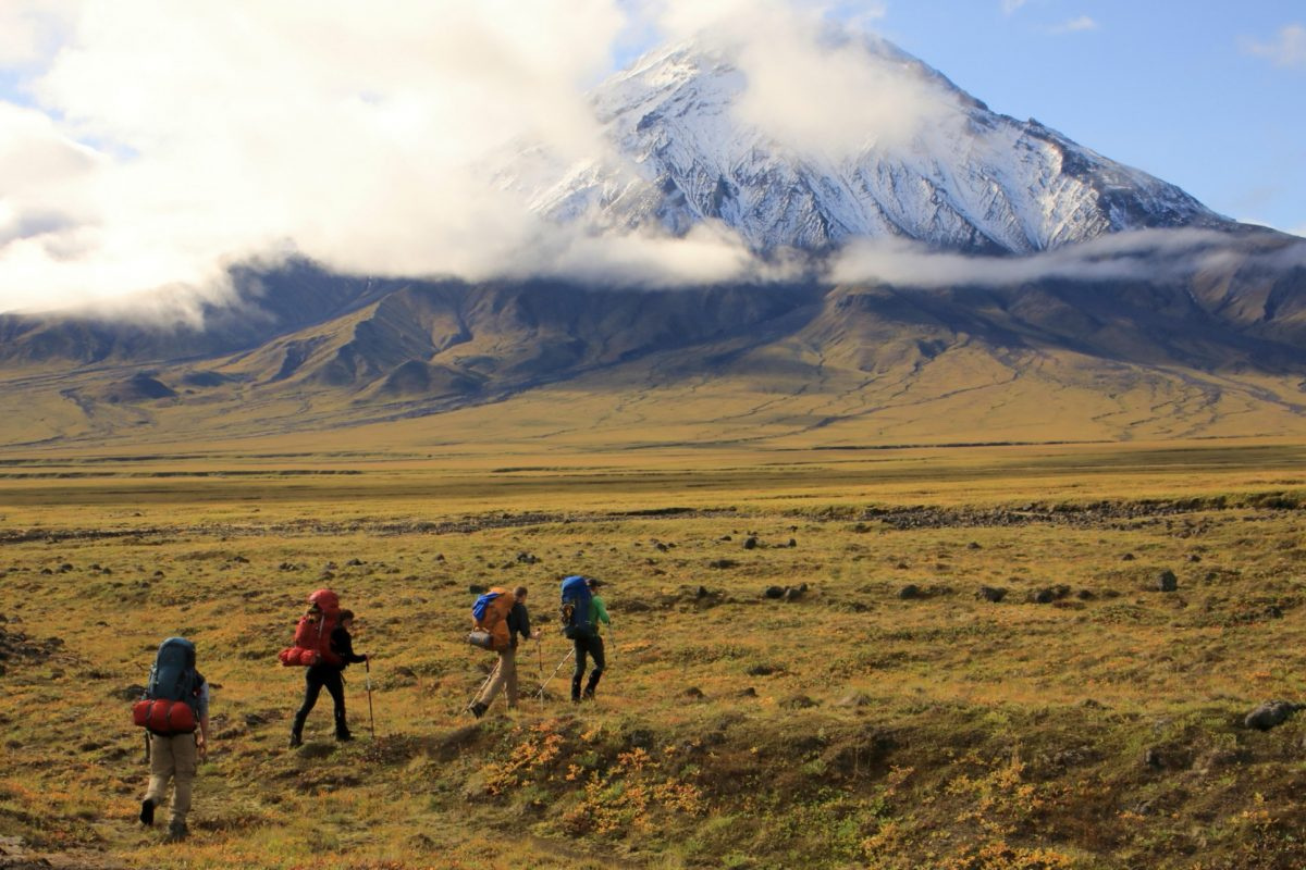 Hiking throughout a volcanic wonderland in Russia's Kamchatka