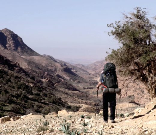 Leon McCarron walking through the Middle East, the Land Beyond