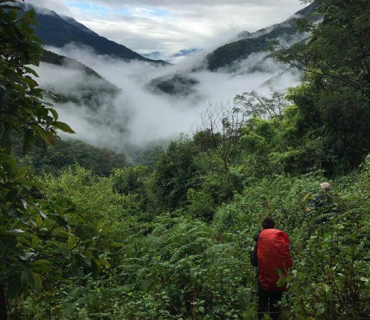 Jungle trekking Burma