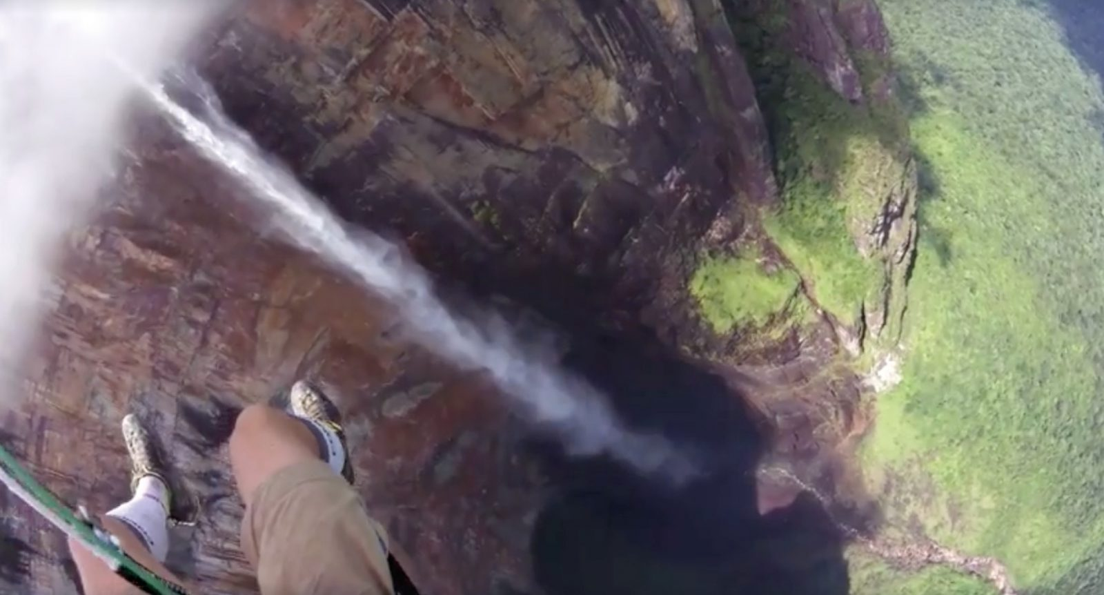 Paragliding over Angel Falls
