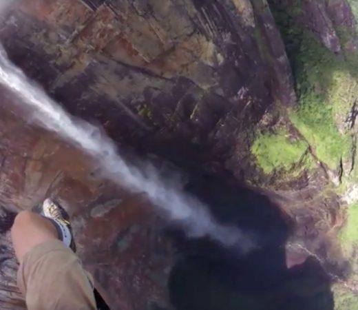Paragliding over Angel Falls