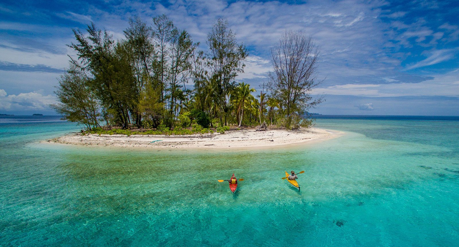 sea kayak west papua