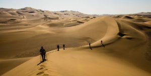 Crossing the Lut Desert