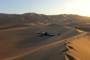 camping in the Lut desert Iran