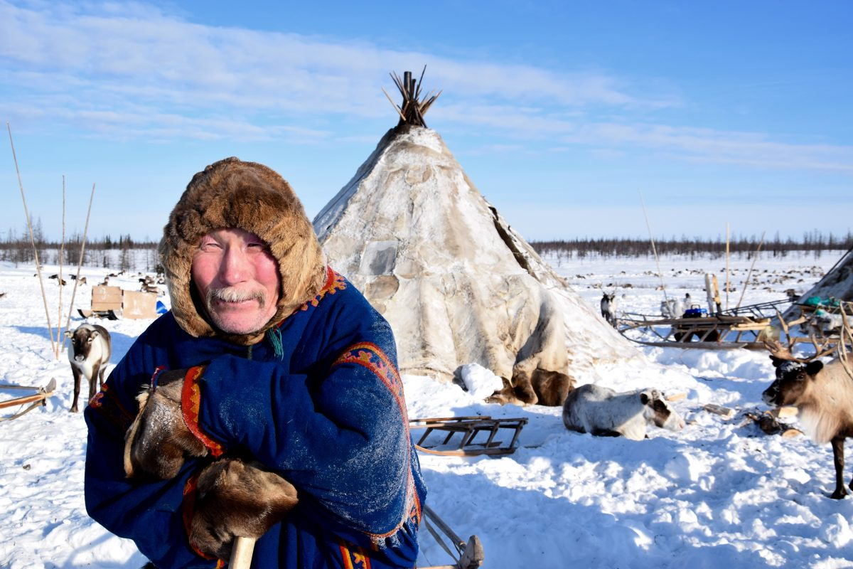 Nenets in northern Siberia