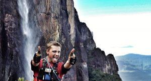 Dave Lucas Angel Falls, Venezuela