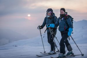 Forced smiles during freezing conditions at dawn © Adventure In Focus