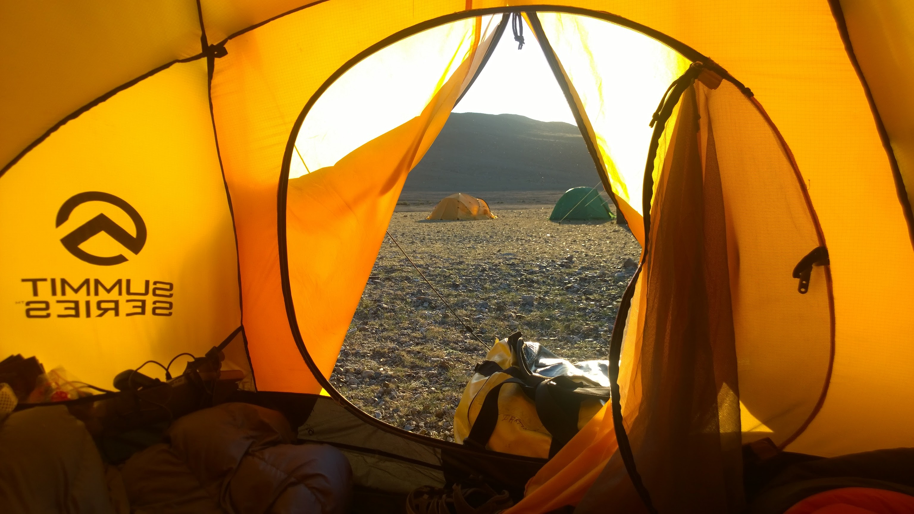 Camping on expedition in Mongolia © Secret Compass