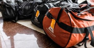 Duffle bags packed and ready to fly to Iraqi Kurdistan for a summit attempt