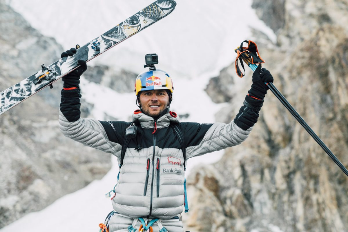 Polish ski mountaineer Andrzej Bargiel has hit the history books as the first man to ski from the summit of K2,