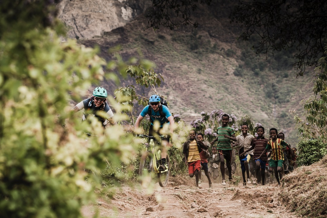MTB expedition to Ethiopia with Secret Compass. © Dan Milner
