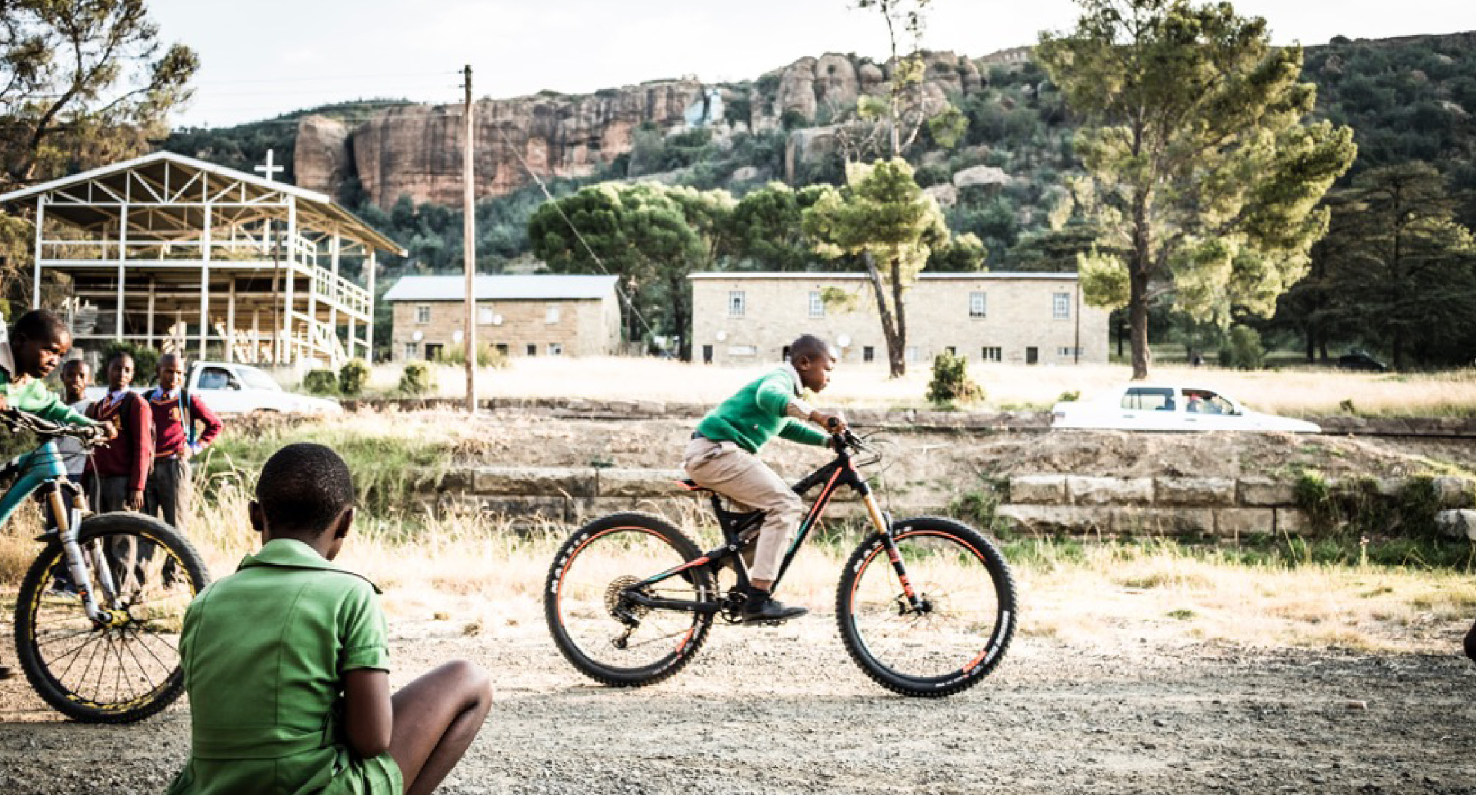 breaking down cultures with bicycles